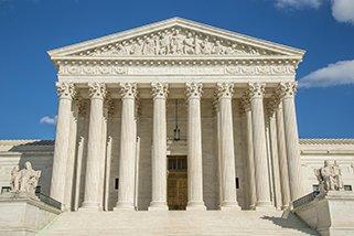U.S. Supreme Court building in Washington D.C.
