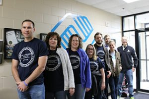 Davenport Evans lawyers and staff volunteer at Boys & Girls Club
