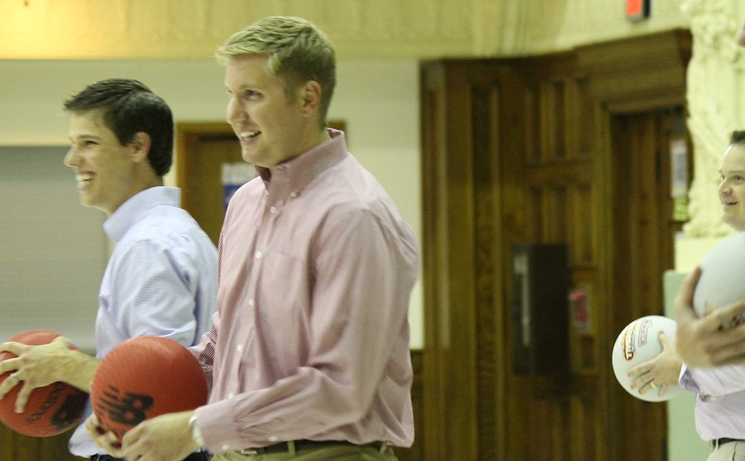 Davenport Evans Celebrates 75 Years with Dodgeball and 75 Donations at the Multi-Cultural Center