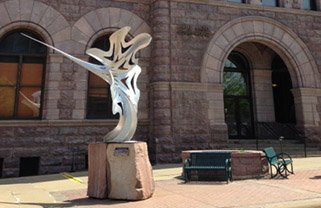 SculptureWalk Portal by Riefe Sponsored by Davenport Evans