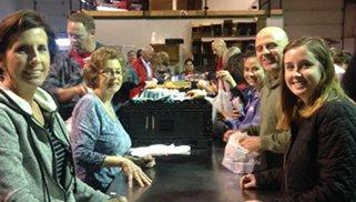 Attorneys and Staff Volunteer for Feeding South Dakota