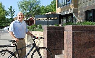Keith Gauer Bike to Work
