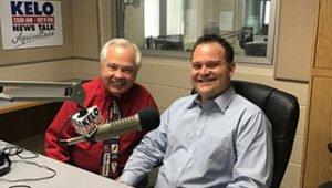 Bill Zortman and Mitch Peterson