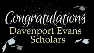 Congratulations Davenport Evans Scholars