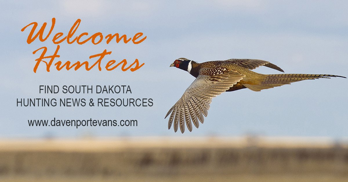 Welcome Hunters Pheasant FB