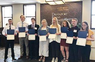 2019 Davenport Evans Scholars