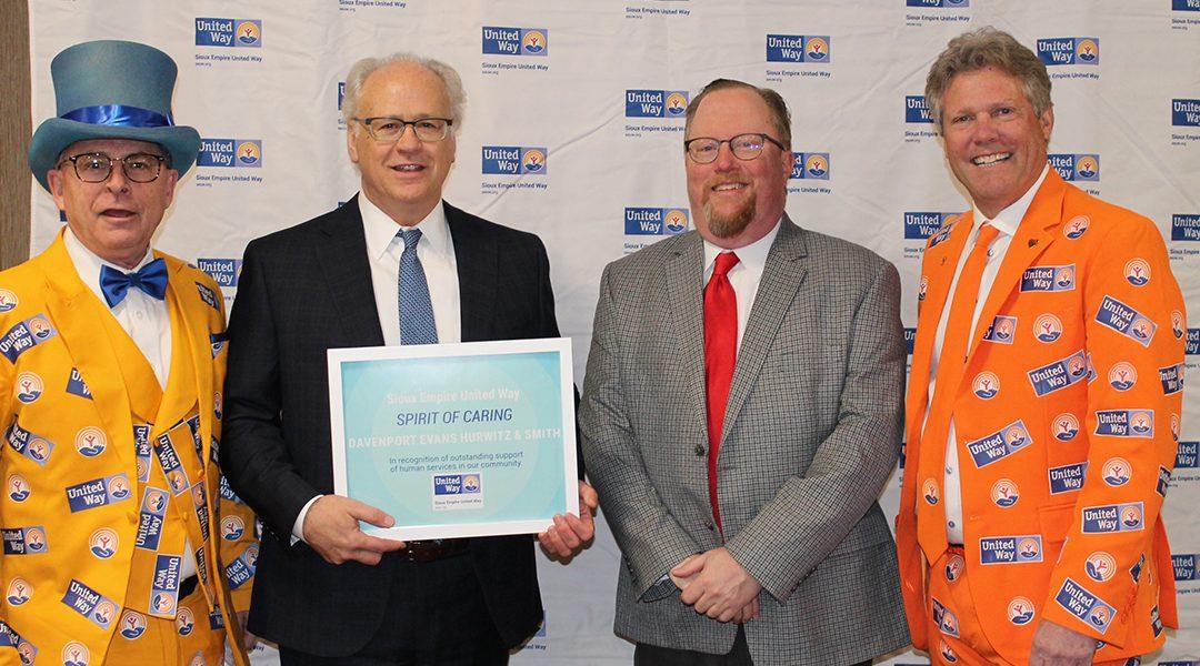 Davenport Evans Recognized at Spirit of Caring Award Event