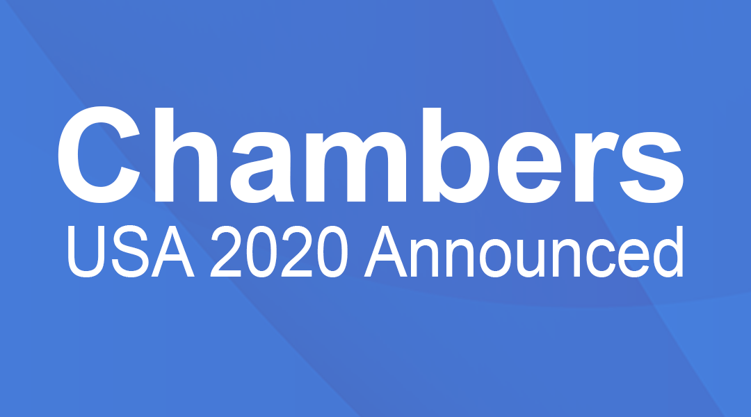 Chambers USA 2020 Announcement