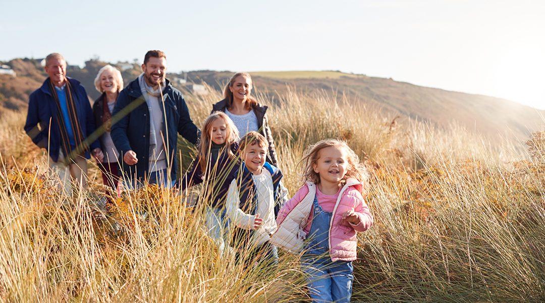 Multi-Generation Family Hike