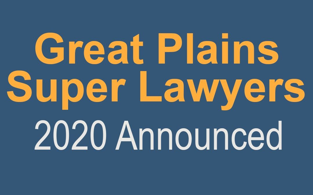 """14 Davenport Evans Lawyers Named by Great Plains Super Lawyers, Four Named """"Rising Stars"""""""