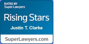 Super Lawyers Rising Stars Justin Clarke