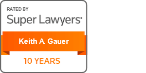 Super Lawyers Keith Gauer