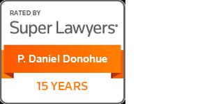 Super Lawyers P. Daniel Donohue