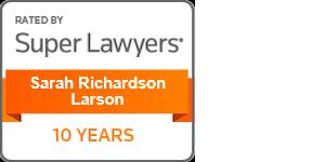 Super Lawyers Sarah Richardson Larson